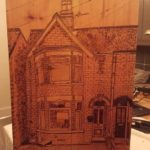 pyrography house